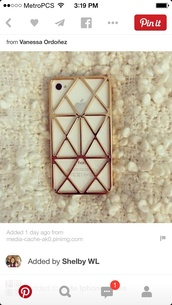 phone cover,gold iphone case