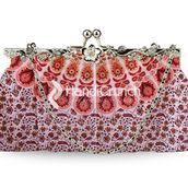 bag,clutch,handbag,mandala