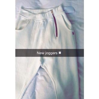 pants skinny joggers white nike joggers zipper slim fit nike joggers slim