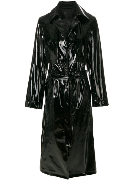 coat trench coat women black