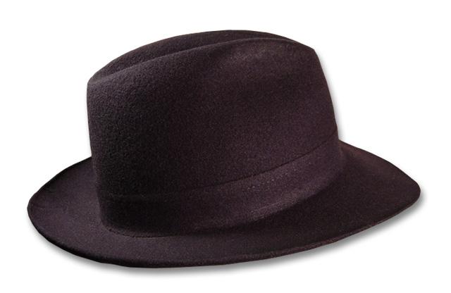 Corleone Black Fedora Hat 100 Wool Sterkowski 1924 XXL US 7 3 4 | eBay