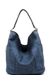 bag,denim,dark blue,navy,zip,handbag,gold