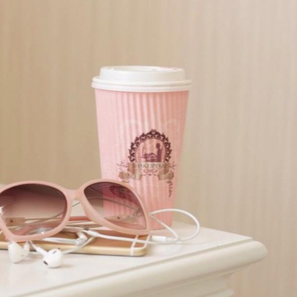 sunglasses pink white any luxury brand