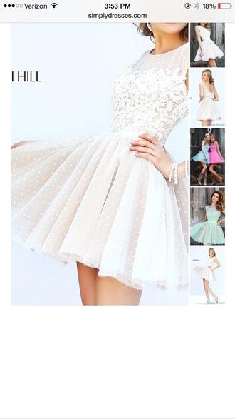 ivory dress