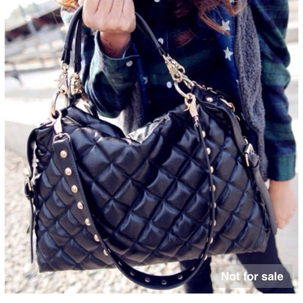 bag black bag with gold details leather bag
