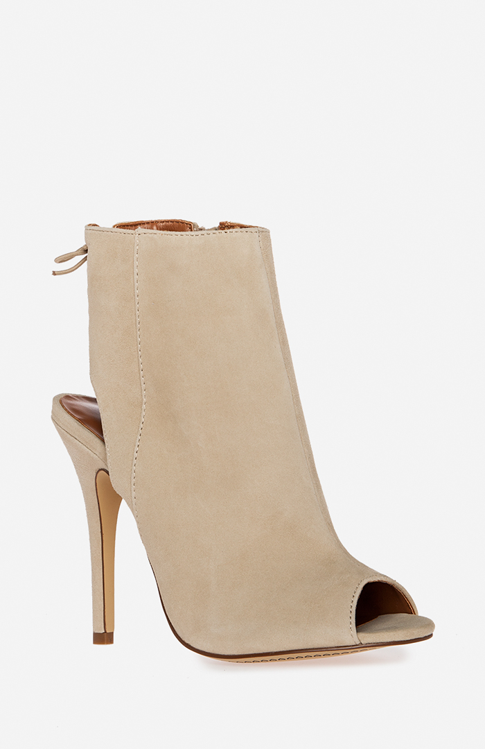 Chinese Laundry Jinxy Booties in Beige 5.5 - 10 | DAILYLOOK