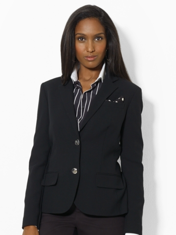 Two-Button Wool Blazer - Jackets   Women - RalphLauren.com