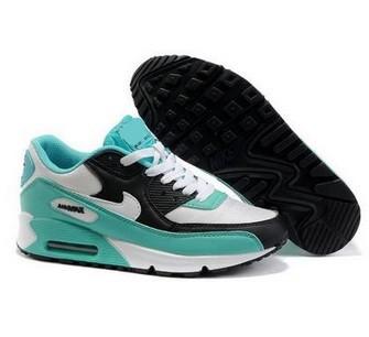 Nike air max black and sky blue2