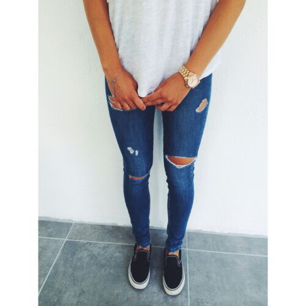 Tumblr Cute Outfits With Skinny Jeans | Car Interior Design