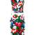 Samantha Sung - belted floral pencil dress - women - Cotton/Spandex/Elastane - L, Black, Cotton/Spandex/Elastane
