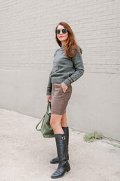 dallas wardrobe // fashion & lifestyle blog // dallas - fashion & lifestyle blog,blogger,sweater,skirt,bag,sunglasses,shoes