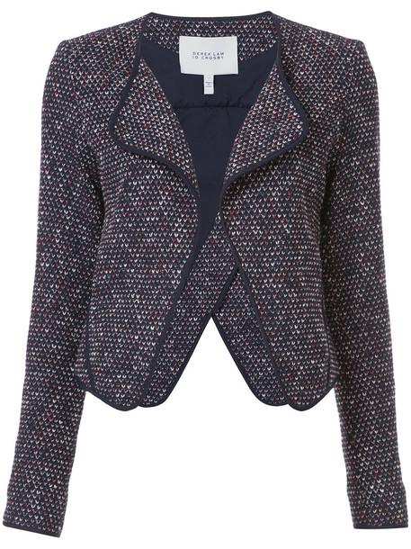 DEREK LAM 10 CROSBY jacket women cotton black