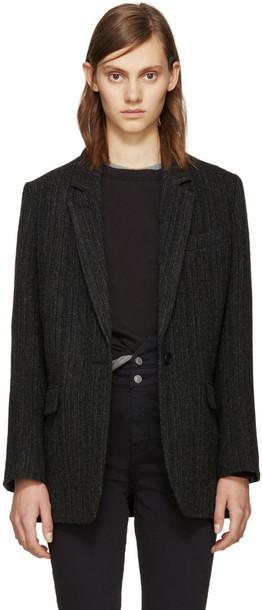 Isabel Marant etoile coat black
