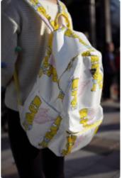 bag,bart simpson,the simpsons,backpack,angel
