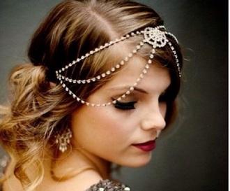 hair accessory headpiece pearl headband