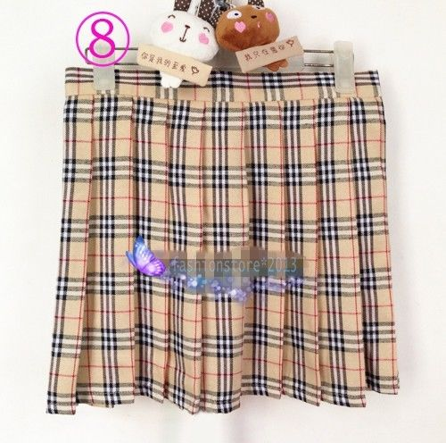 Womens Adult Naughty School Girl Plaid Tartan cosplay uniform Mini Pleated Skirt-in Skirts from Apparel & Accessories on Aliexpress.com | Alibaba Group