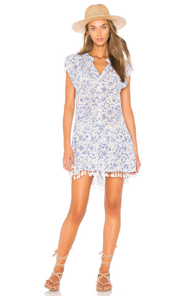 Poupette St Barth dress mini dress mini blue