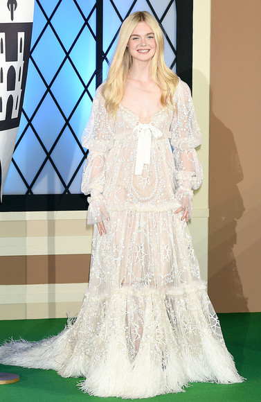 elle fanning dress