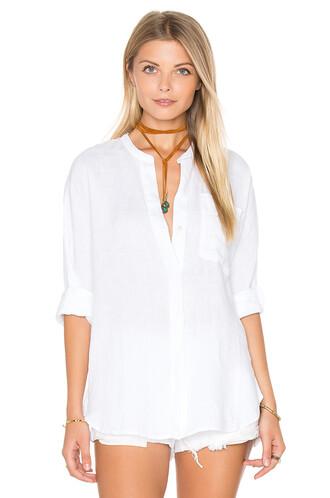 shirt tunic white