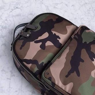 bag backpack camouflage