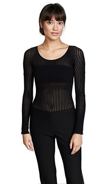 Wolford bodysuit black underwear