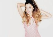 top,ariana grande,butera,perfecto,fashion,pretty,girly,polka dots,pink pastel dresses,summer dress,pink floral kimono,dress,pink dress
