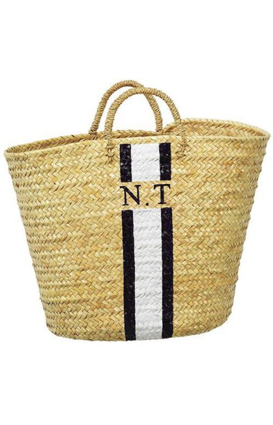 Bag: straw bag, straw, raffia, raffia bag, tote bag, beach bag ...