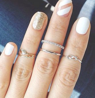 jewels ring jewelry knuckle ring silver silver ring silver midi rings stacked ring
