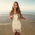 emmaoclothing - Handmade crochet fringe dress BEIGE
