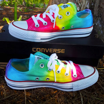 Low Top Tie Dye Converse on Wanelo