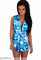 """Chic """"next in line"""" tropical print playsuit (2 colors available) – glamzelle"""
