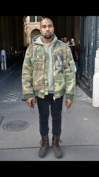 shoes yeezy boots yeezy boots brown kanye west menswear