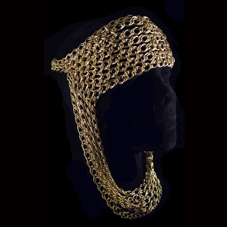 jewels chain lady gaga head jewels