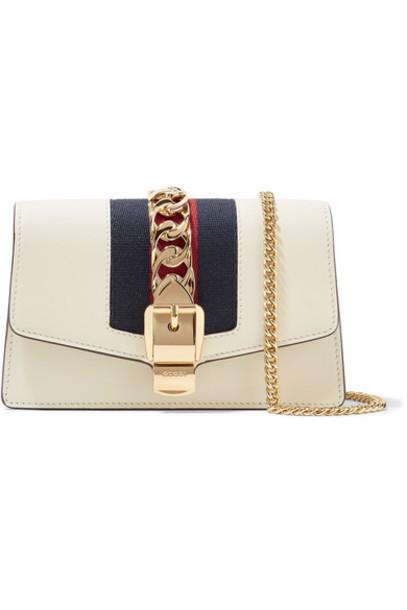 gucci mini embellished bag shoulder bag leather