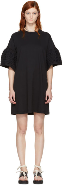 See by Chloe dress shirt dress t-shirt dress ruffle black