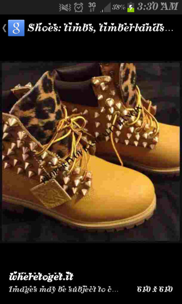 shoes leopard timberlands studded shoes