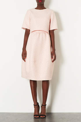 Textured Bubble Tee and Jacquard Midi Skirt - Suits and Co-ords  - Clothing  - Topshop USA