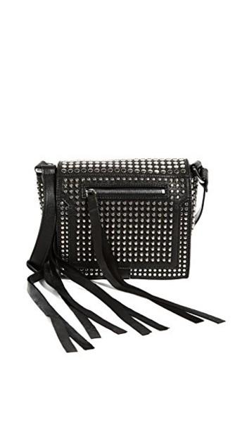 McQ - Alexander McQueen cross mini bag black