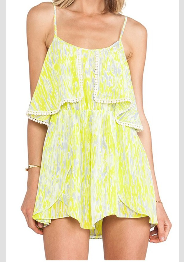 romper bright summer dress summer outfits outfit summer outfits