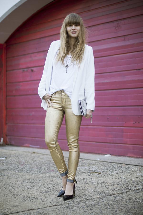just another me pants jeans t-shirt coat jacket shoes bag jewels