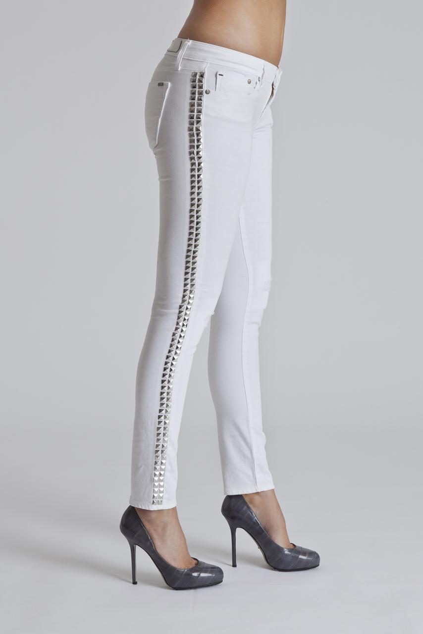 Teaser Skinny in White