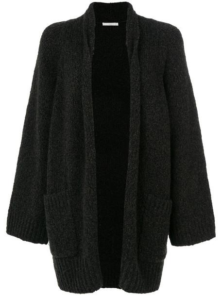 Vince cardigan cardigan women silk wool knit brown sweater