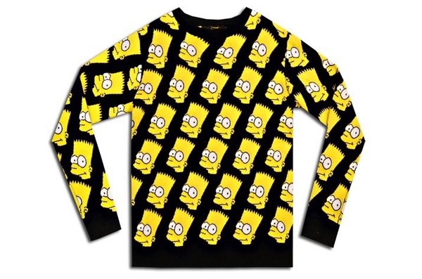 sweater the simpsons bart simpson