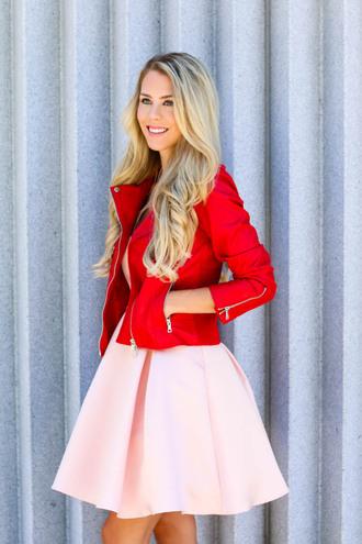 fashion addict blogger dress pink dress