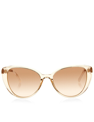rose gold rose sunglasses gold nude