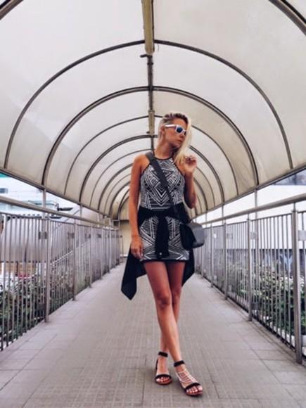 tribal pattern blogger sunglasses martina m