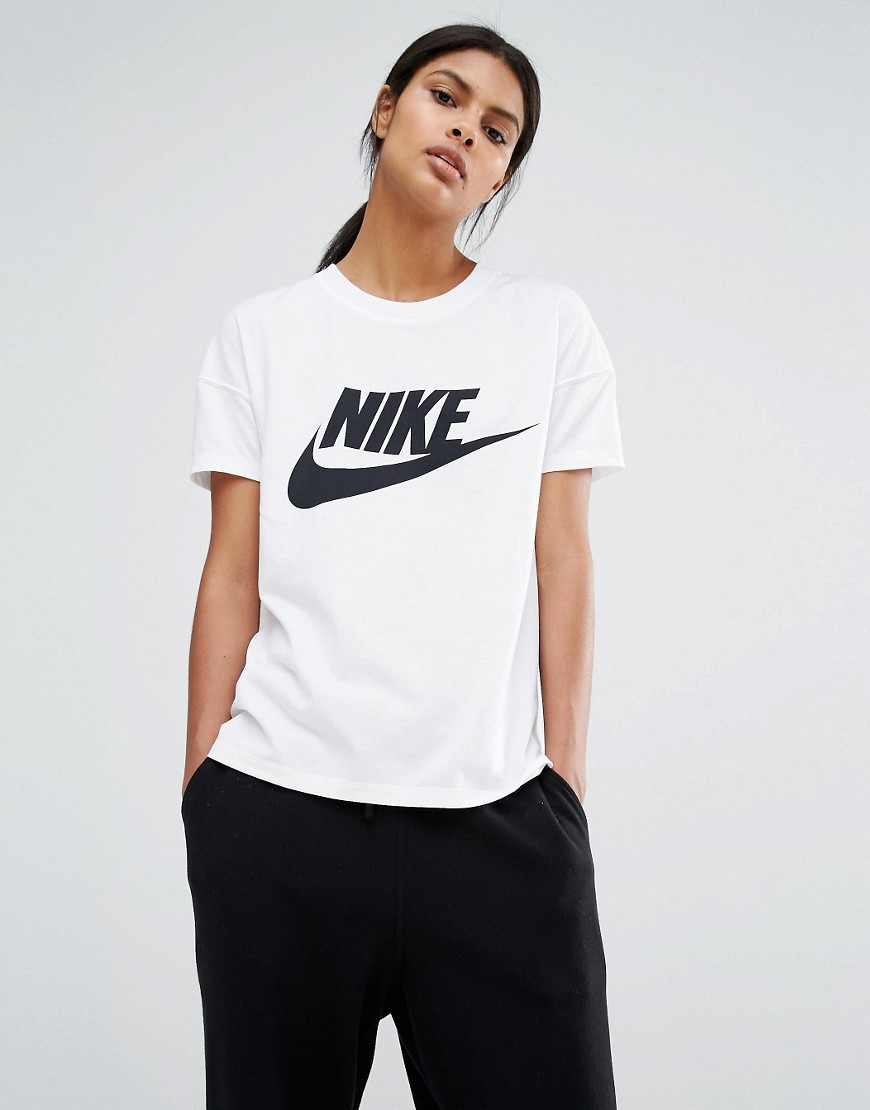 factory authentic buy good san francisco Nike Signal Short Sleeve T-Shirt With Large Logo at asos.com