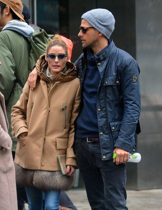 sunglasses blogger olivia palermo coat