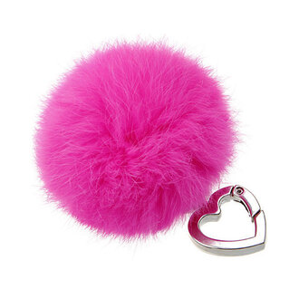 rabbit fur keychain genuine rabbit fur pom pom fur charm fur pompom fur pom pom rabbit fur fur balls fur ball keychain jewels