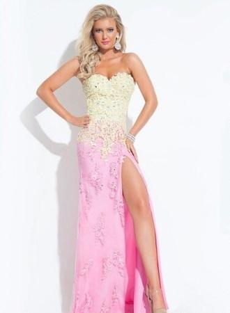 dress lace dress lace up hot pink dress prom dress prom gown pretty dress white dress nude dress beige dress senior prom long dress long prom dress ombre